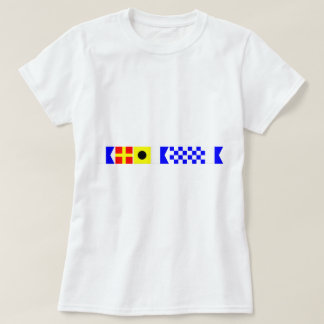 Drapeau de code Arianna T-shirt