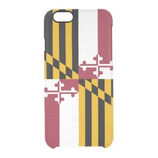 Drapeau de coque iphone clair du Maryland