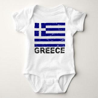 Drapeau de cru de la Grèce Body