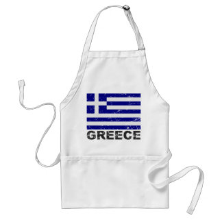 Drapeau de cru de la Grèce Tablier