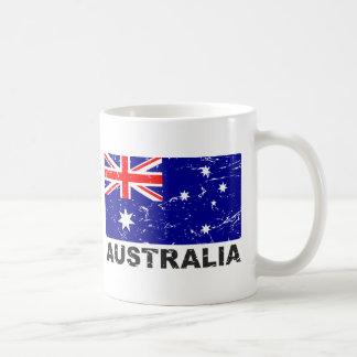 Drapeau de cru de l'Australie Mug