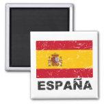 Drapeau de cru de l'Espagne Aimant Pour Réfrigérateur
