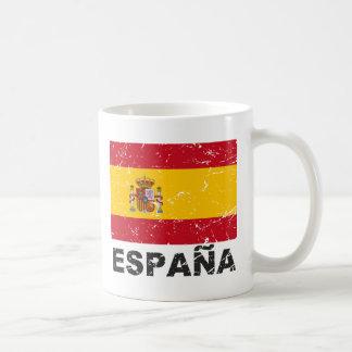 Drapeau de cru de l'Espagne Mug