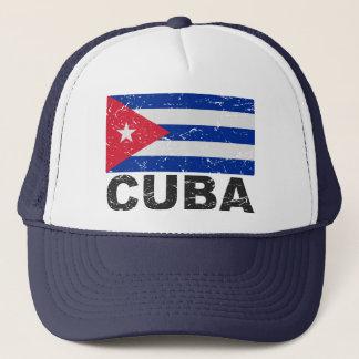 Drapeau de cru du Cuba Casquette
