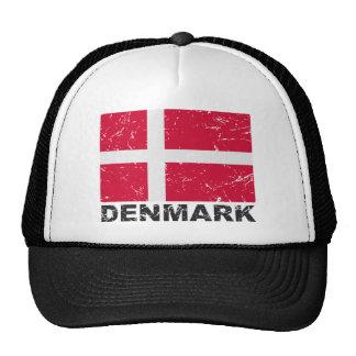 Drapeau de cru du Danemark Casquettes De Camionneur