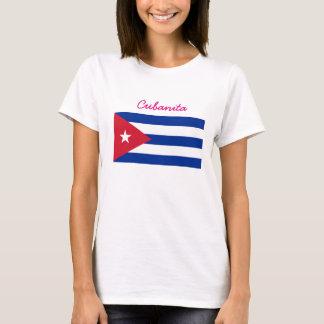 Drapeau de Cubain de Cubanita T-shirt