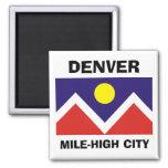 Drapeau de Denver, le Colorado Aimant