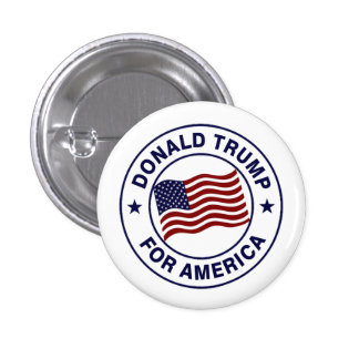 Drapeau de Donald Trump USA Pin's