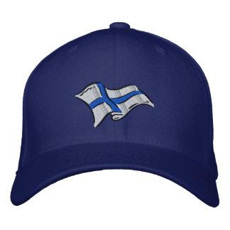 Drapeau de drapeau de la Finlande Suomi pour des Casquette Brodée