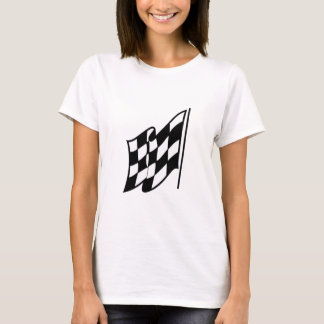 Drapeau de emballage Checkered T-shirt