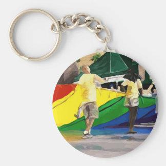 Drapeau de fierté dans le défilé porte-clés