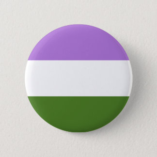 Drapeau de fierté de Genderqueer Pin's