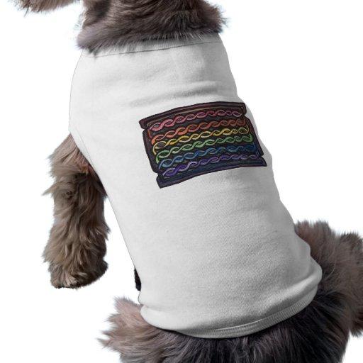 Drapeau de fierté de Knotwork de Celtic Tee-shirts Pour Animaux Domestiques
