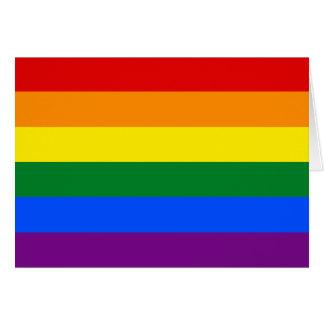 Drapeau de fierté de LGBT Carte De Vœux