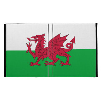 Drapeau de folio d'iPad du Pays de Galles Étui iPad Folio