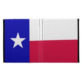 Drapeau de folio d'iPad du Texas Étui iPad Folio