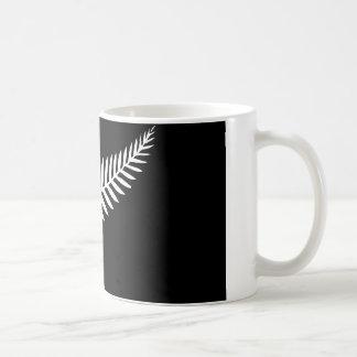 Drapeau de fougère argentée (Nouvelle Zélande) Mug