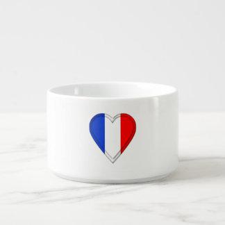 Drapeau de Français de la France Bol Pour Chili