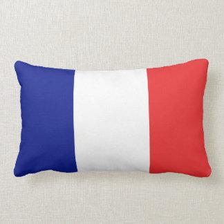 Drapeau de Français Tricolore de la France Coussin Rectangle