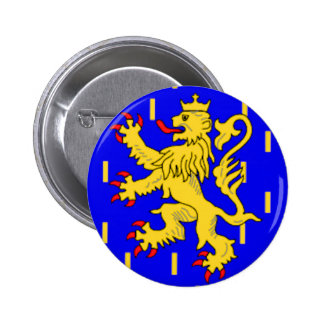 Drapeau de Franche-Comté (France) Badge