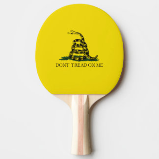 Drapeau de Gadsden Raquette Tennis De Table