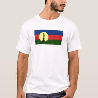 Drapeau de gens du pays de la Nouvelle-Calédonie T-shirt