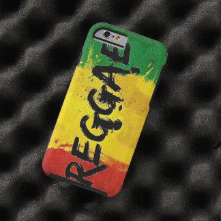 drapeau de graffiti de reggae coque tough iPhone 6