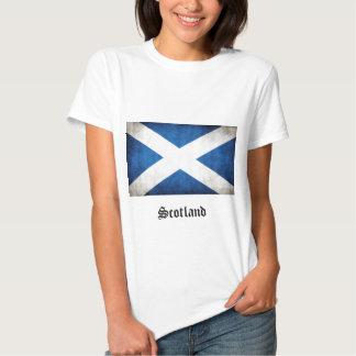 Drapeau de grunge de l'Ecosse T-shirt