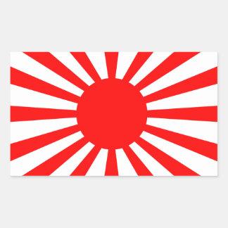 Drapeau de guerre de l'armée de Japonais impérial Sticker Rectangulaire