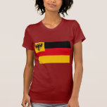 Drapeau de guerre la marine allemande 1848 1852, t-shirts