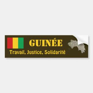 Drapeau de Guinée-Conakry + Adhésif pour pare-choc Autocollants Pour Voiture