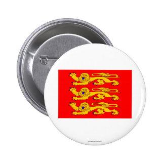 Drapeau de Haute-Normandie Badges