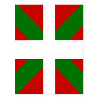 Drapeau de haute qualité Basque Cartes Postales