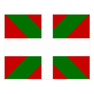 Drapeau de haute qualité Basque Carte Postale