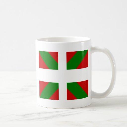 Drapeau de haute qualité Basque Tasses