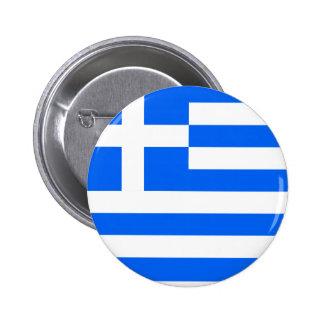 Drapeau de haute qualité de la Grèce Badge