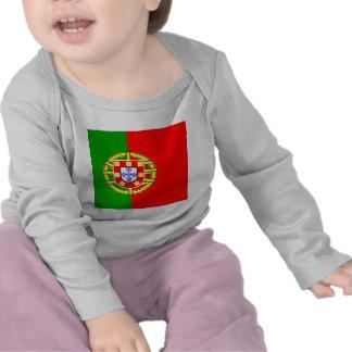 Drapeau de haute qualité du Portugal T-shirt