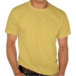 Drapeau de jaune noir des textes de la Jamaïque T-shirt