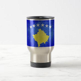 Drapeau de Kosovo Mug De Voyage