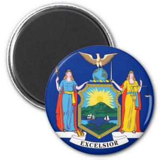 Drapeau de l état de New-York Magnets