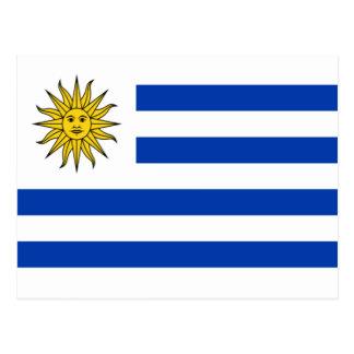 Drapeau de l Uruguay Carte Postale