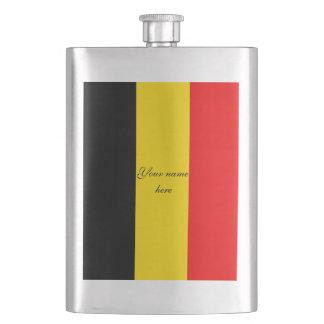 Drapeau de la Belgique Flasque