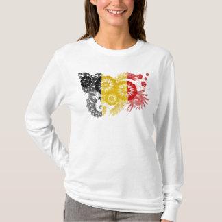 Drapeau de la Belgique T-shirt
