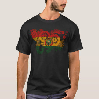 Drapeau de la Bolivie T-shirt
