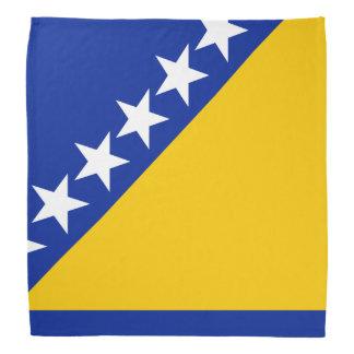 Drapeau de la Bosnie i Hercegovina - Bandana