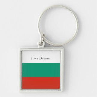 Drapeau de la Bulgarie ou du Bulgare Porte-clés
