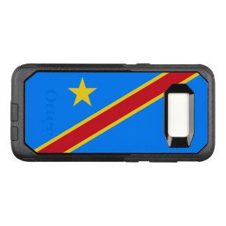 Drapeau de la caisse de DR Congo Samsung OtterBox Coque Samsung Galaxy S8 Par OtterBox Commuter