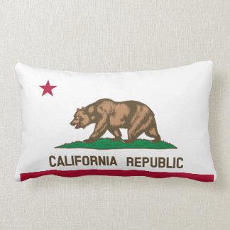 Drapeau de la Californie Coussins Carrés