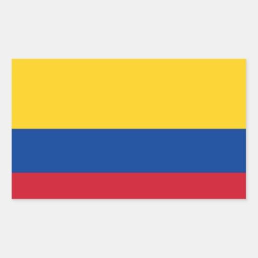 Drapeau de la Colombie Autocollants