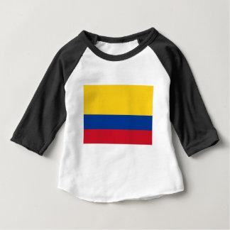 Drapeau de la Colombie - le Bandera De Colombie T-shirt Pour Bébé